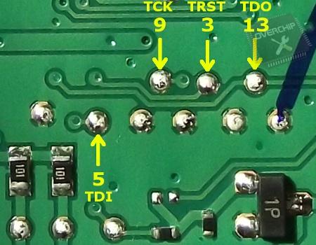 Подключение JTAG ML-2160
