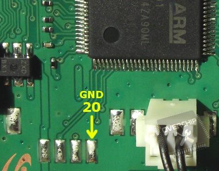 Подключение JTAG к ML-2160